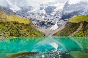 Humantay Lake from Aguas Calientes