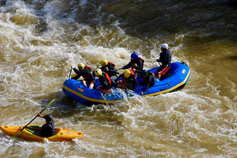 Inca Jungle Trek Rafting