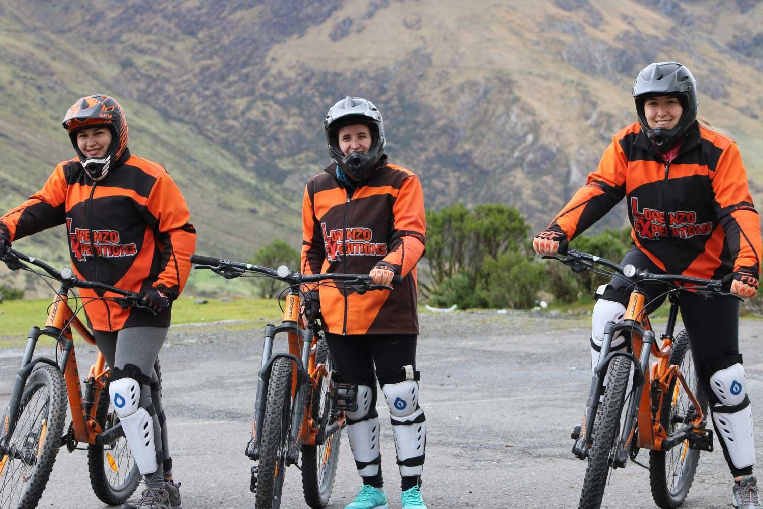 Inca Jungle Trek Biking