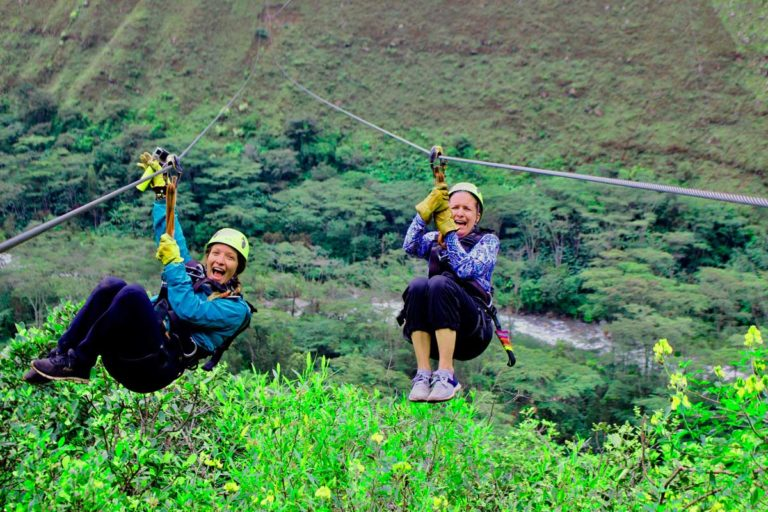 Inca Jungle Trek Zip Line
