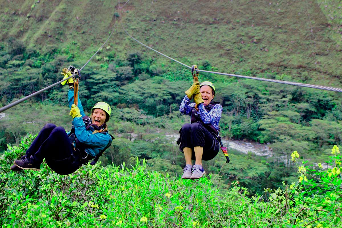 Inca Jungle Trek Zip Line