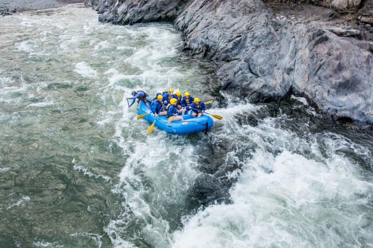 Rafting In Inca Jungle Trek