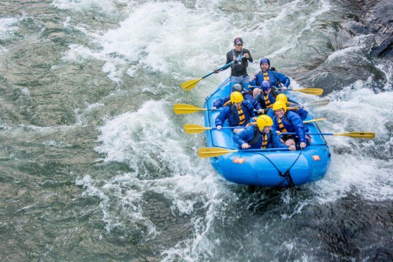 Rafting In Inca Jungle Trek